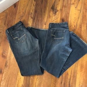 AE Real Flare Jeans X2